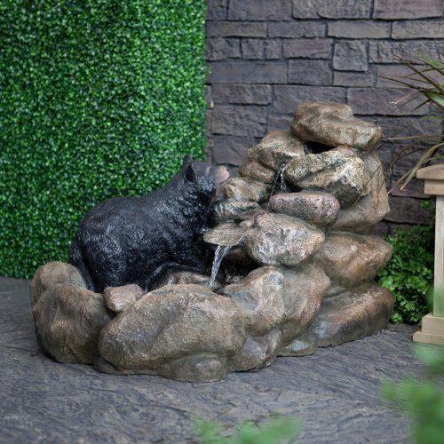 M s de 100 fotos de modelos de fuentes de jard n que os van a encantar - Fuentes para jardin de piedra ...