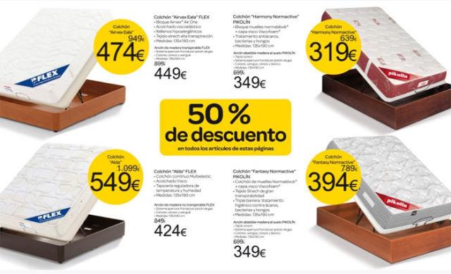 Decoracion mueble sofa precios de colchones en carrefour - Colchones hinchables carrefour precios ...
