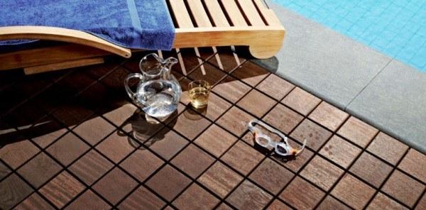 Suelos de exterior sin obras for Escalera piscina bricodepot