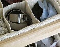 Organizadores para utilizar en el closet o ropero