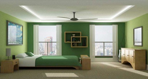 Monochromatic-Green-Bedroom-by-Jeremy-Sikorski