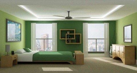 Monochromatic-Green-Bedroom-by-Jeremy-Sikorski