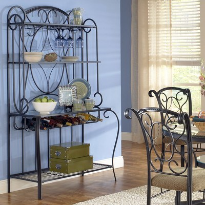 Steve-Silver-Furniture-Rosemeade-Bakers-Rack