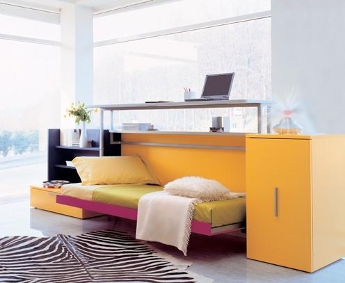 camas-mueble abierta