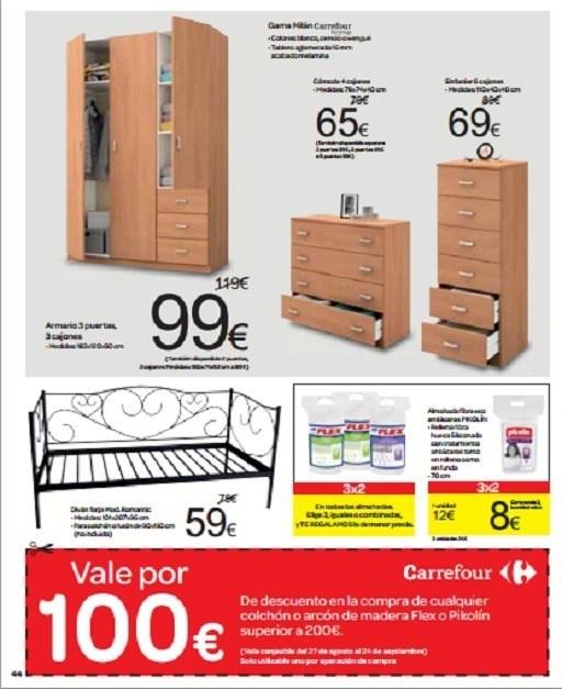 Catalogo de muebles carrefour septiembre 2013 muebles for Carrefour muebles