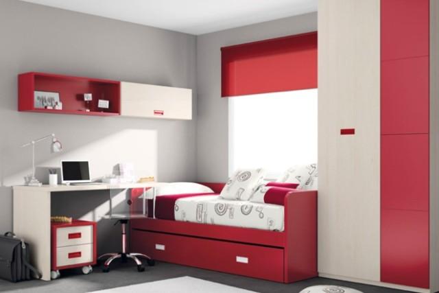 Colores para dormitorios de matrimonio juveniles y - Dormitorios juveniles pequenos ...