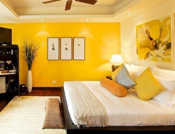 Colores para dormitorios de matrimonio juveniles y peque os for Colores de pared para habitacion
