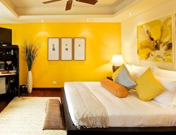 Colores para dormitorios de matrimonio juveniles y peque os - Colores de pared para dormitorios ...
