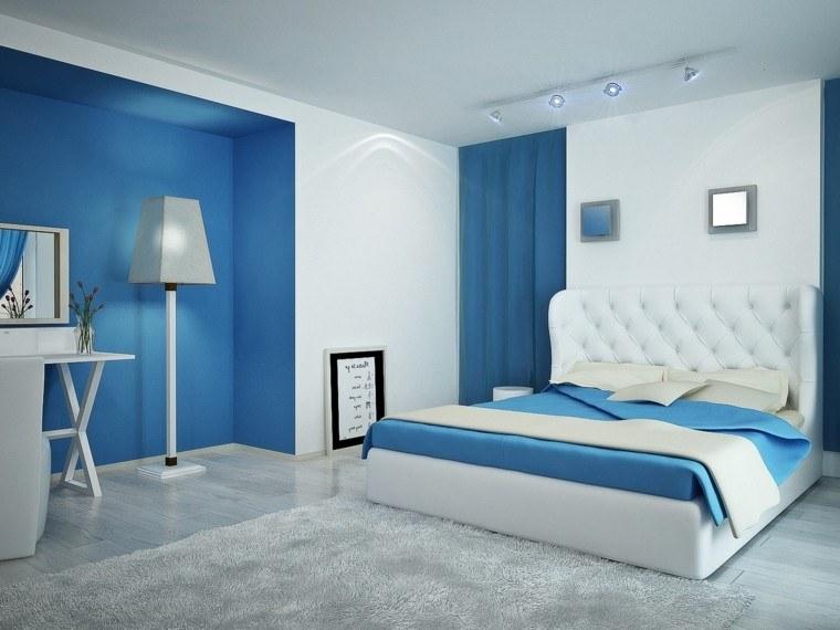 Colores para dormitorios de matrimonio colores azul blanco for Colores para habitaciones matrimonio