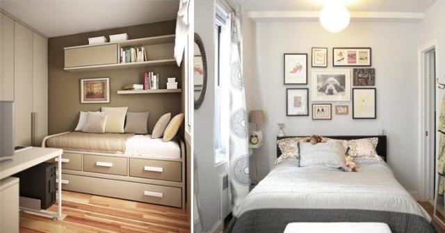 Colores para dormitorios de matrimonio juveniles y peque os - Dormitorios juveniles espacios pequenos ...
