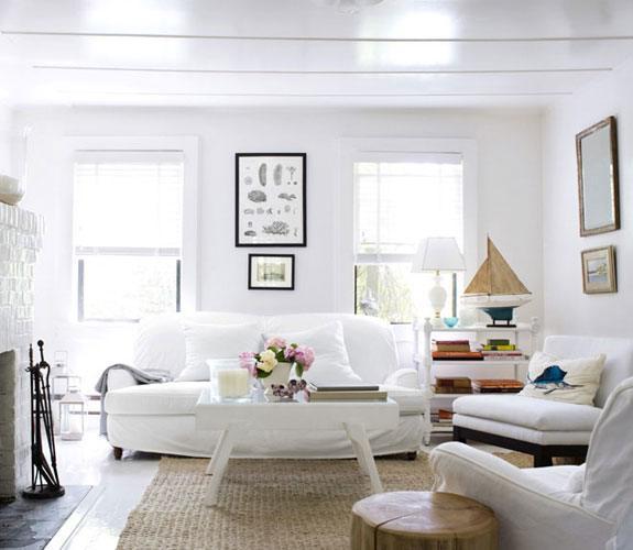 C mo mantener limpias las paredes blancas - Decoracion paredes blancas ...