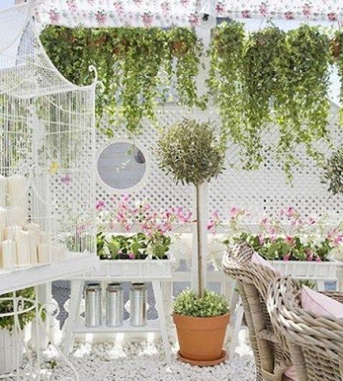 Decora tu terraza de estilo vintage - Decorar terrazas con encanto ...