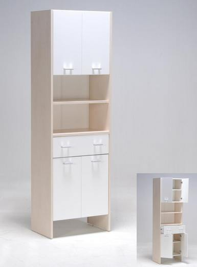 Estantes De Pared Para Baño:Cómo decorar con el Catálogo de muebles de baño Carrefour :