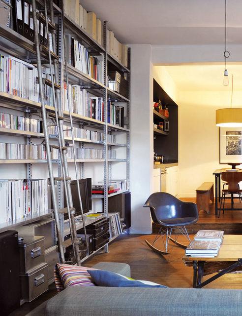 Estanter as met licas para toda la casa - Estanterias metalicas para libros ...
