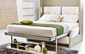 La funcionalidad de las camas abatibles