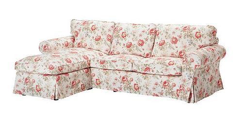fundas sofa flores ikea