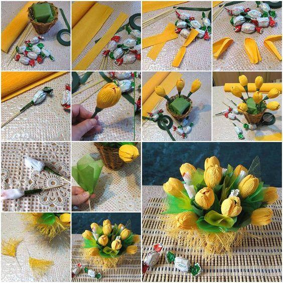 hacer-ramos-de-flores-con-caramelos