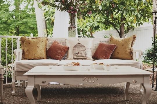 Decora tu terraza de estilo vintage for Terrazas vintage