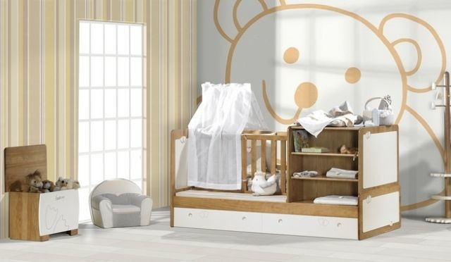 10 ideas para decorar habitaciones infantiles for Pared habitacion infantil