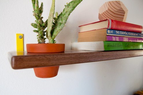 Cómo hacer repisas de madera moderna11