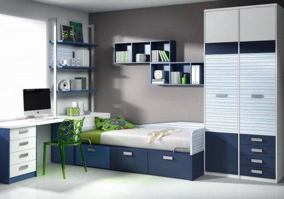 Modelos de repisas de madera - Modelos de dormitorios juveniles ...