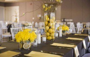 Como hacer elegantes centros de mesa para fiestas