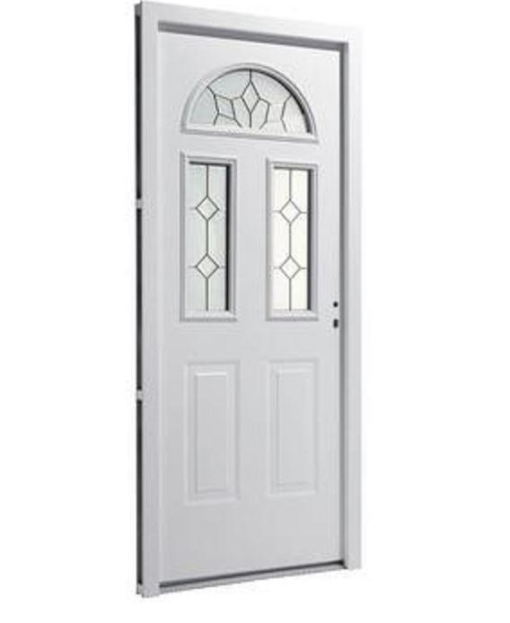 Puertas de exterior de hierro car interior design for Brico depot puertas interior