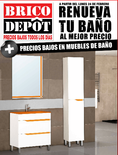 Cat logo de ba o brico depot 2017 for Muebles bano bricomart