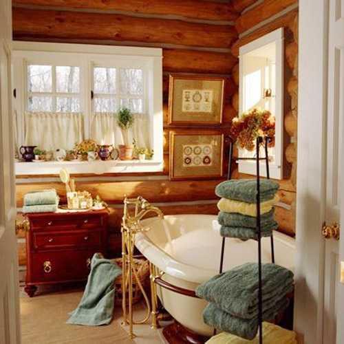 Imagenes De Baño Rustico:baño-rustico-imagenes