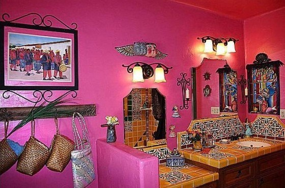 Baños Estilo Mexicano Fotos:Mexican Bathroom Decorating Ideas