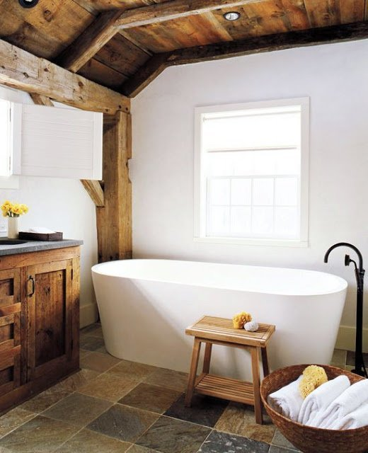 Baños Diseno Rustico:Rustic Barn Bathroom Ideas
