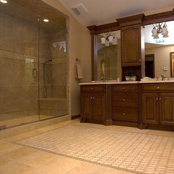 Baldosas Baño Rustico:Azulejos para los baños rústicos – EspacioHogarcom