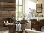 bañor-rustico-decoracion-bañera-central