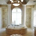 bañor-rustico-decoracion-marmol