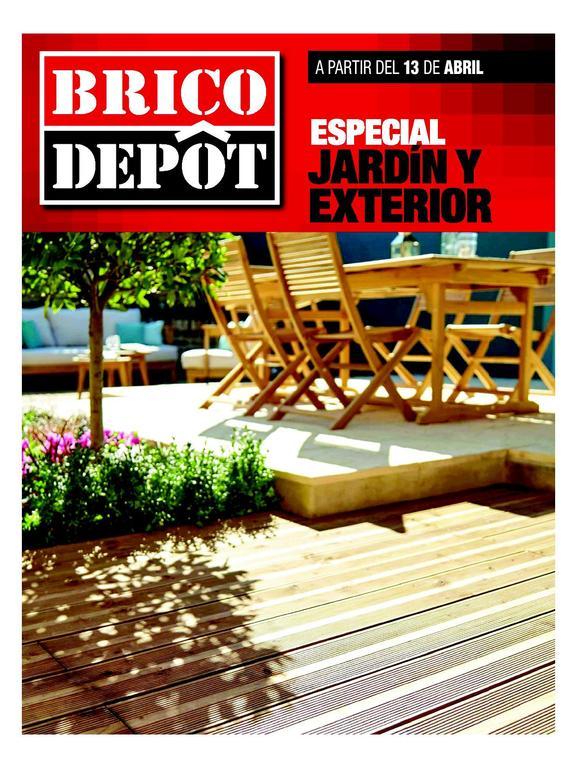 Cat logo brico depot especial jard n y exterior 2017 - Mobilier jardin brico depot ...