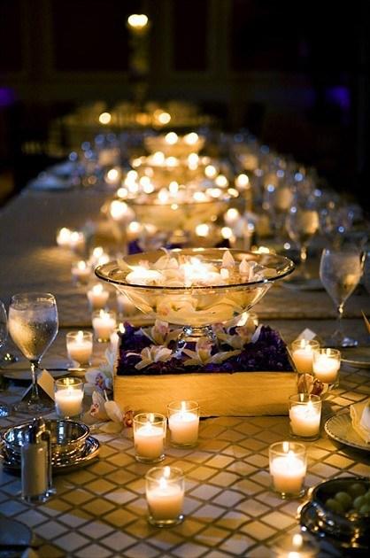 Center-table-wedding-night