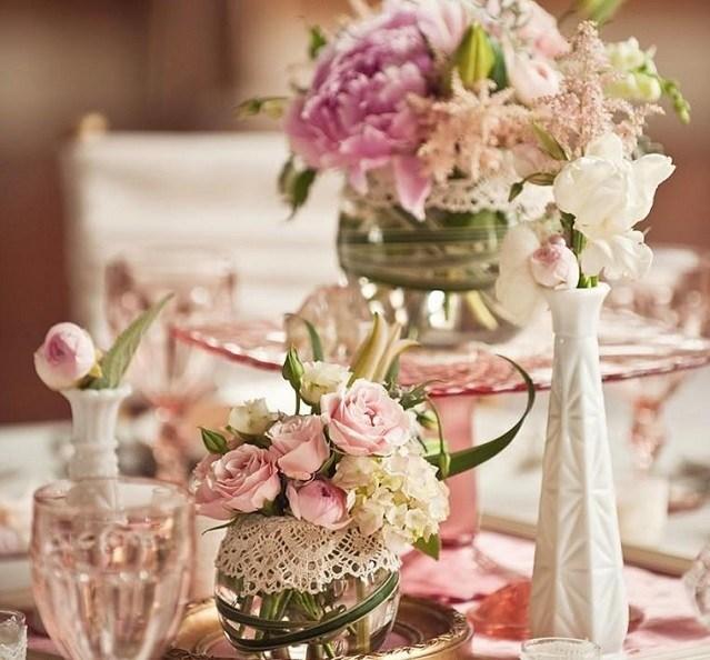 Centros de mesa para bodas 2018 los mejores arreglos de for Articulos decoracion baratos