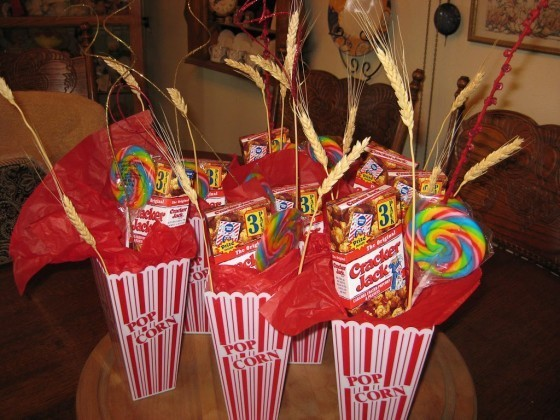Ideas Para Centros De Mesa Para Fiestas Infantiles El Carrito De Las Chuches
