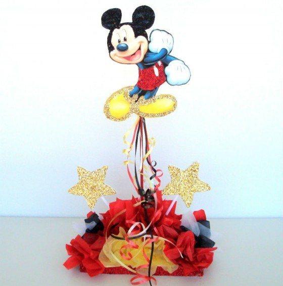 Ideas de centros de mesa con Mickey Mouse