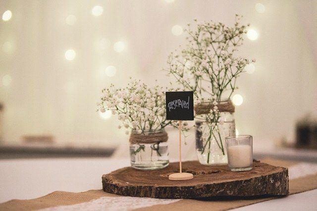 Matrimonio Rustico Como : Centros de mesa para bodas 2019: los mejores arreglos de mesa para