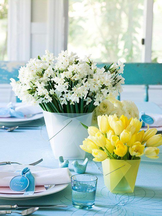 Center-table-simple-flowers-15-years