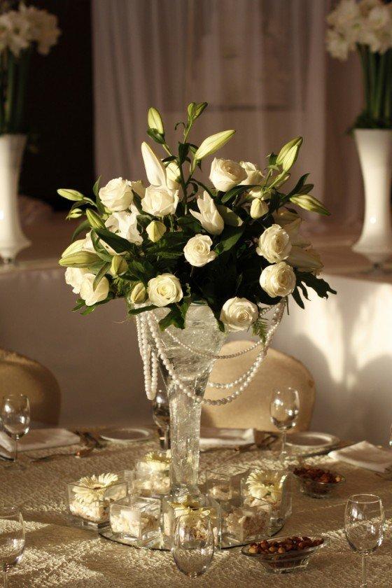 Consejos para los centros de mesa con flores - Centros navidenos de mesa ...