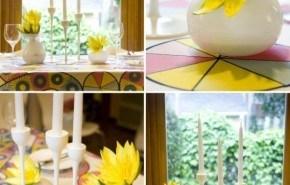 Ideas para la decoración con un centro de mesa