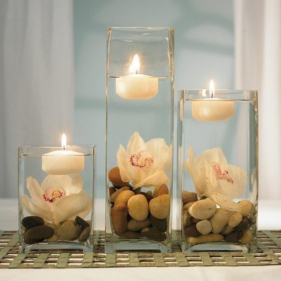 Table-centers-floating-candles