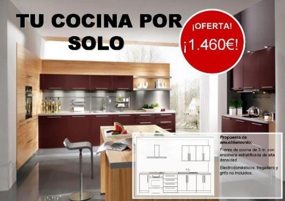Buscar cocinas baratas online for Precio de cocinas baratas
