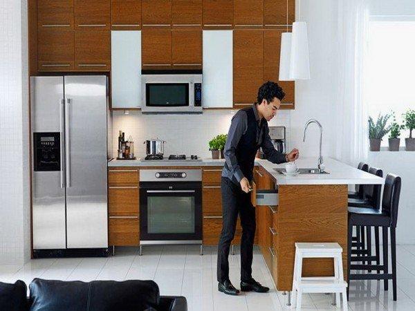 Cocina peque a moderna for Cocina comedor pequena