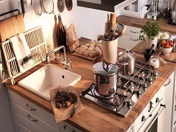Cocina peque a rustica for Cocinas pequenas rusticas