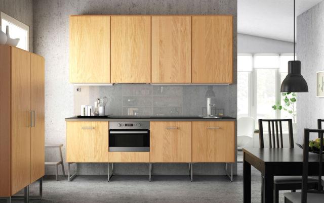 Cocinas baratas de ikea modelo madera decoraci n en - Encimeras para cocinas baratas ...