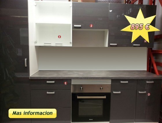 Buscar cocinas baratas online for Simulador de cocinas integrales online
