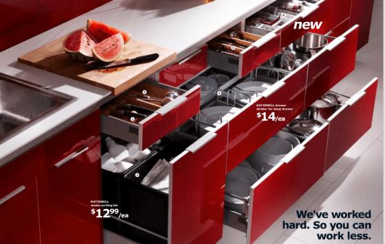 Cocinas baratas en ikea - Cajoneras de cocina ...